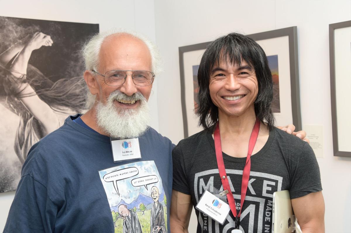 Ira Meyer and Kenji Fukudome