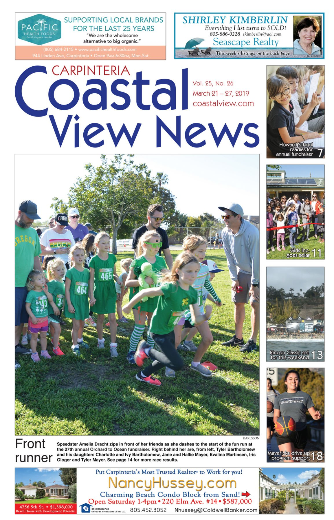 Coastal View News • March 21, 2019