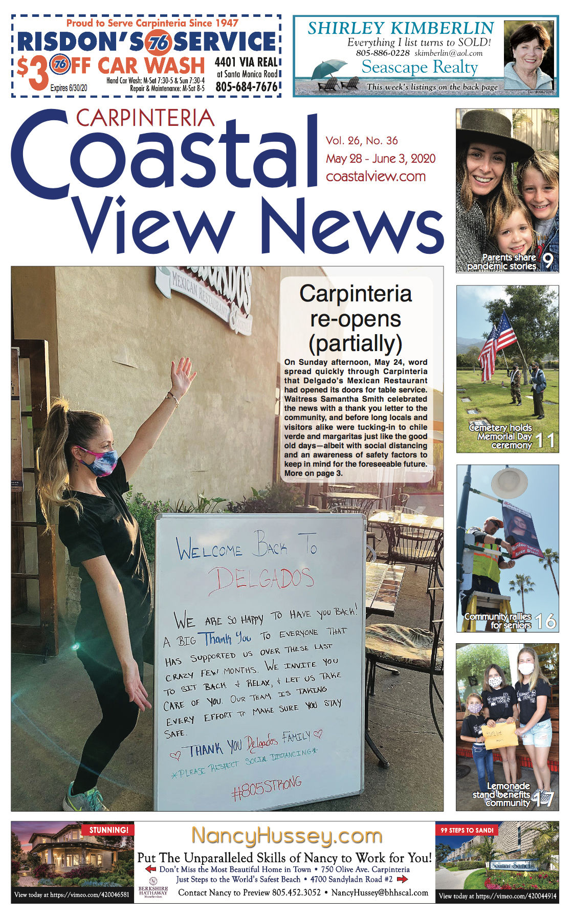 Coastal View News • May 28, 2020