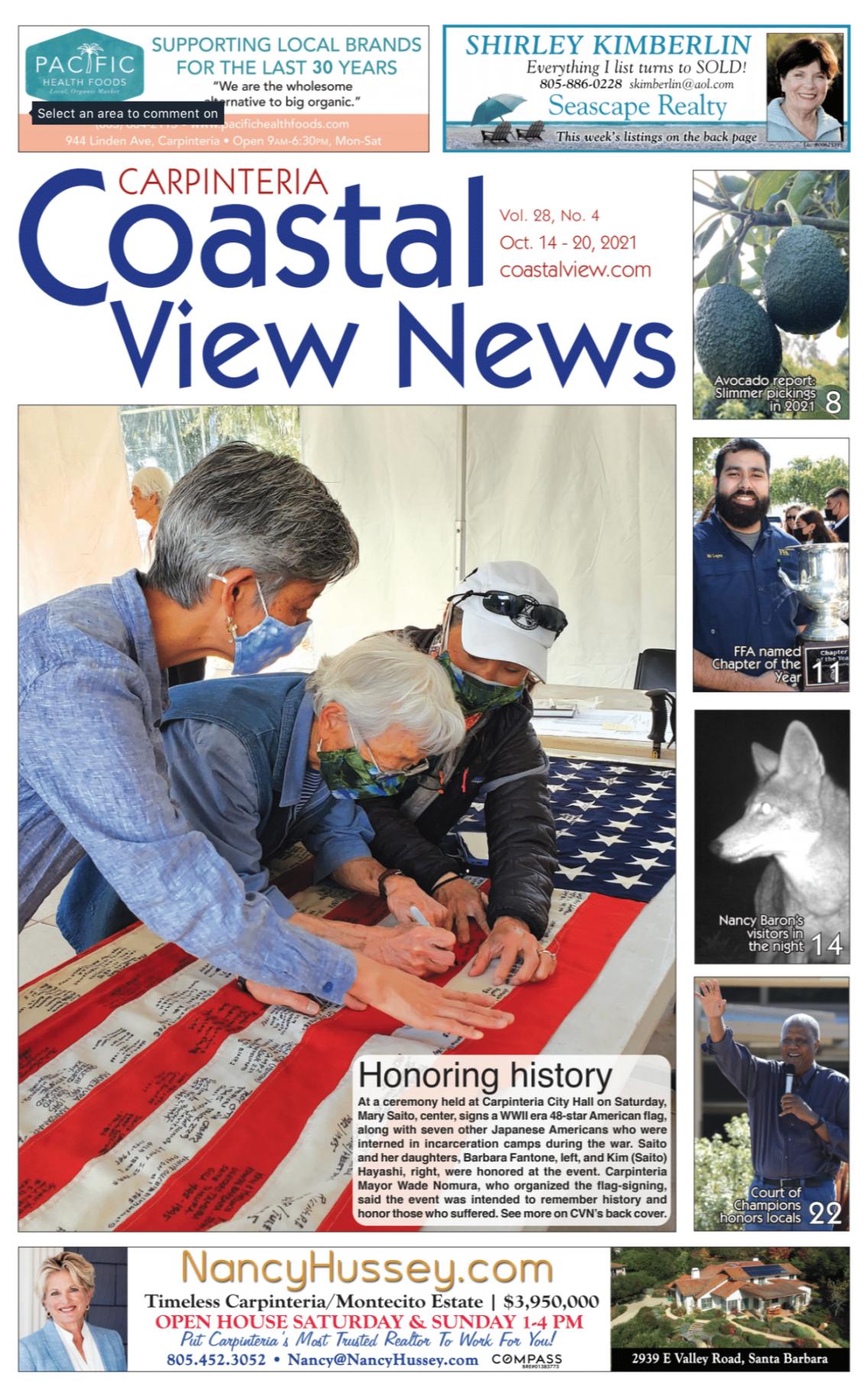 Coastal View News • October 14, 2021
