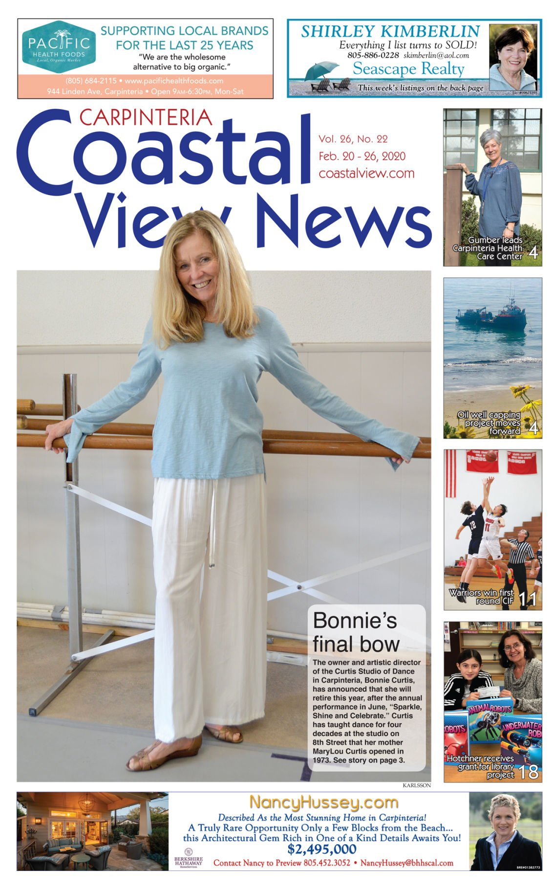 Coastal View News • February 20, 2020