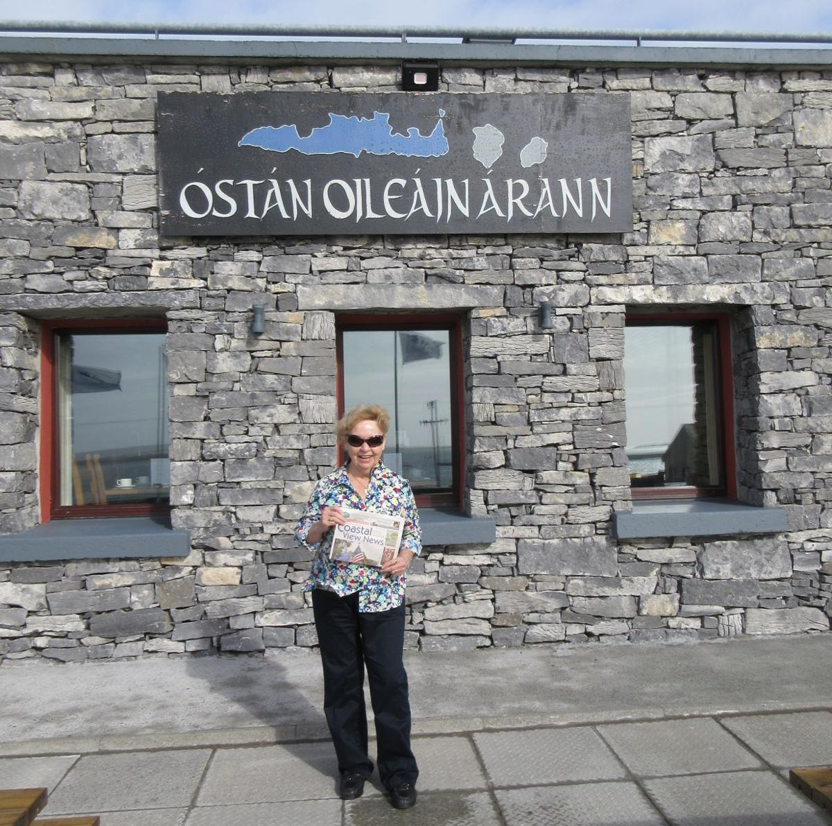 Mazie Chauvin Visited The Aran Island In Ireland With Her Coastal View  News, Andpleted A