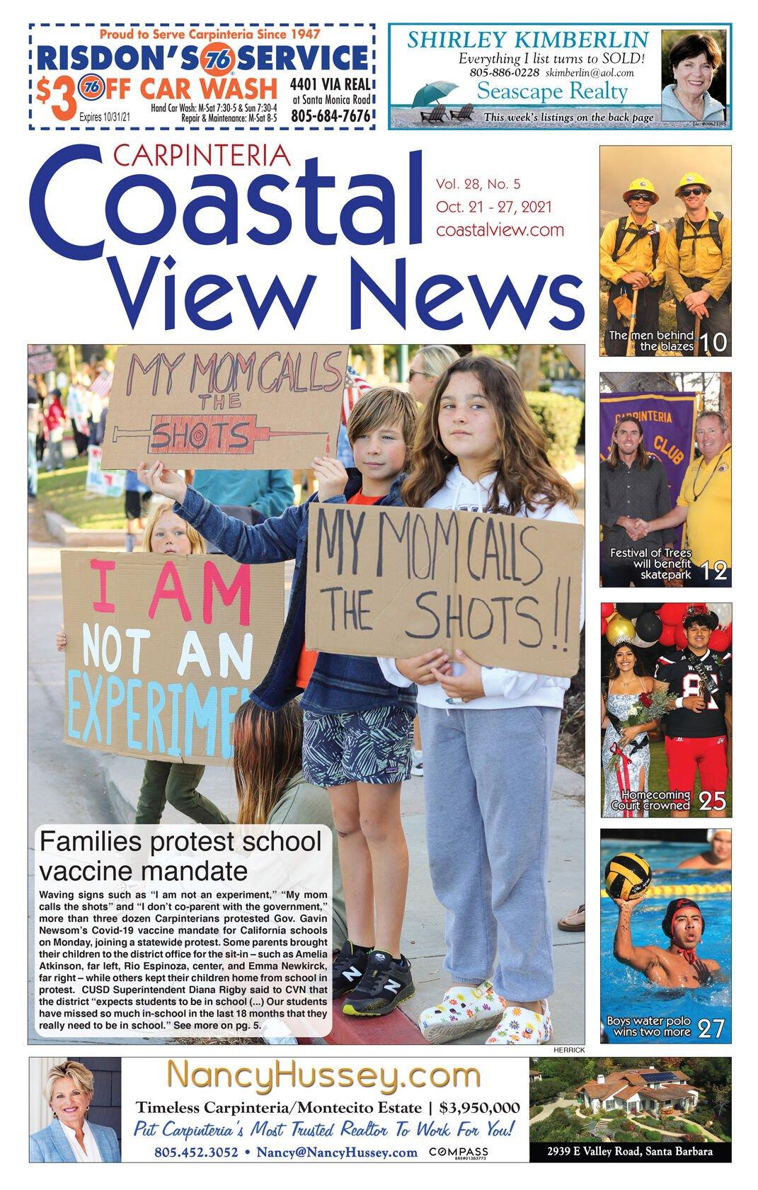Coastal View News • October 21, 2021