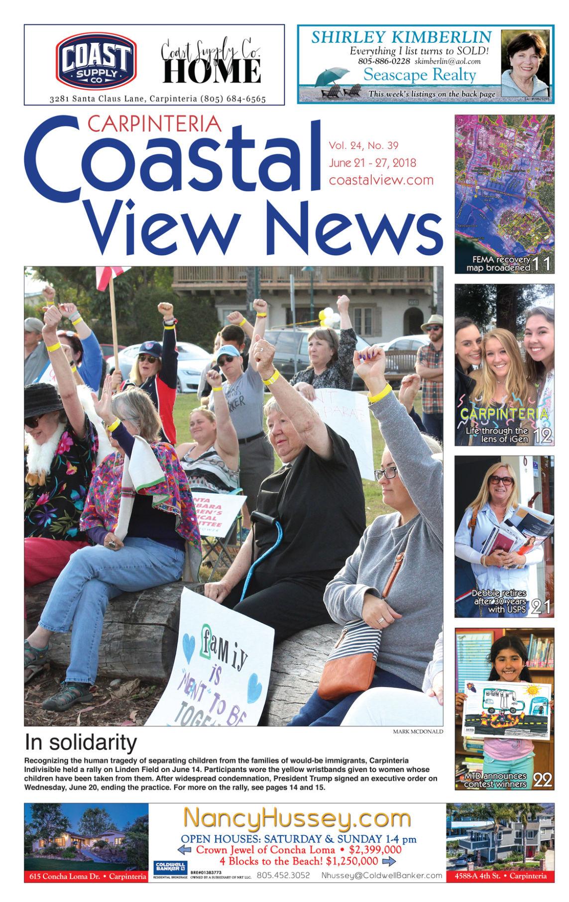 Coastal View News • June 21, 2018