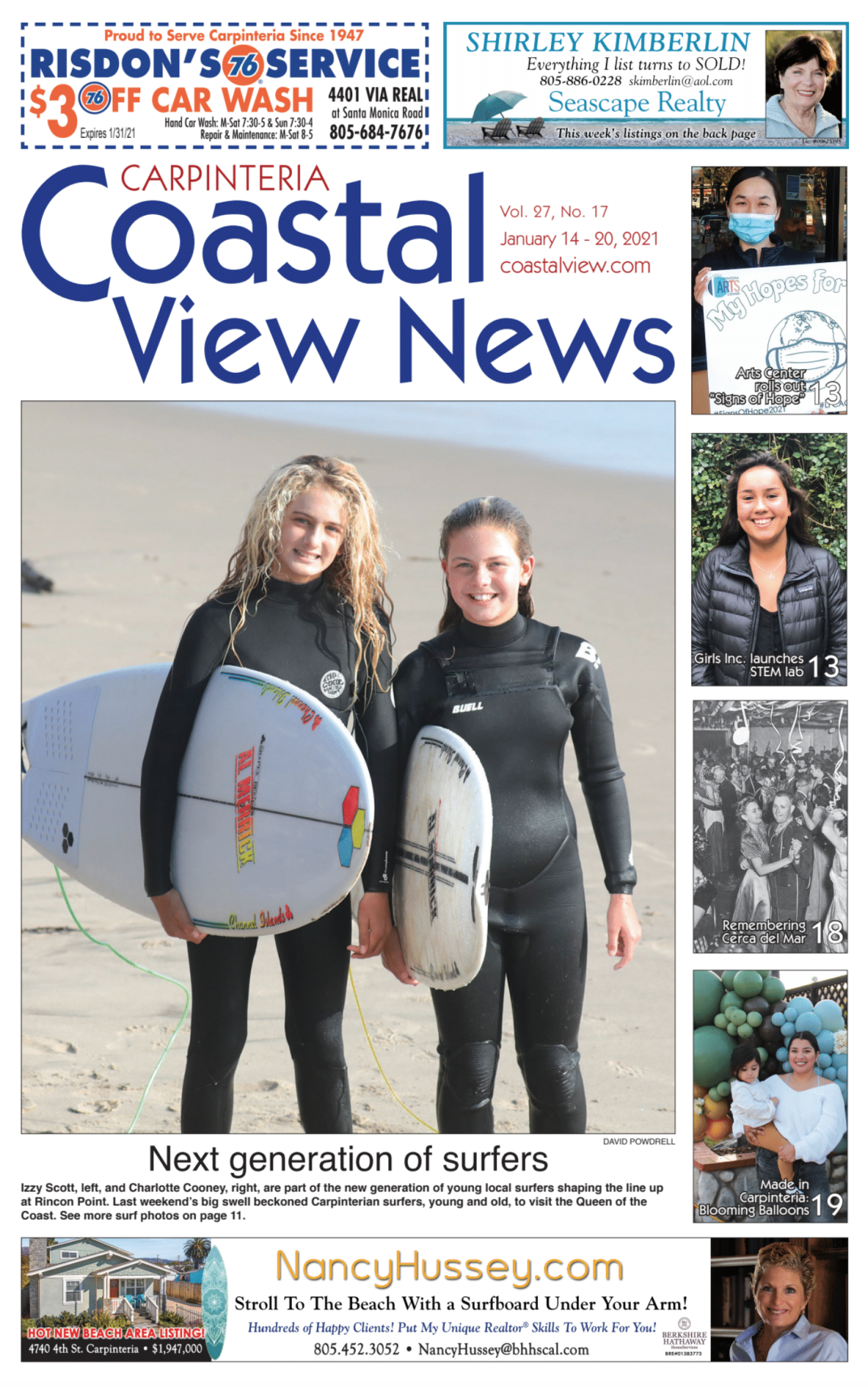 Coastal View News • January 14, 2021
