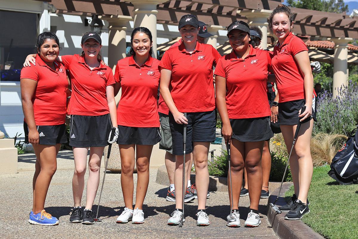 2017 Warrior Golf Team