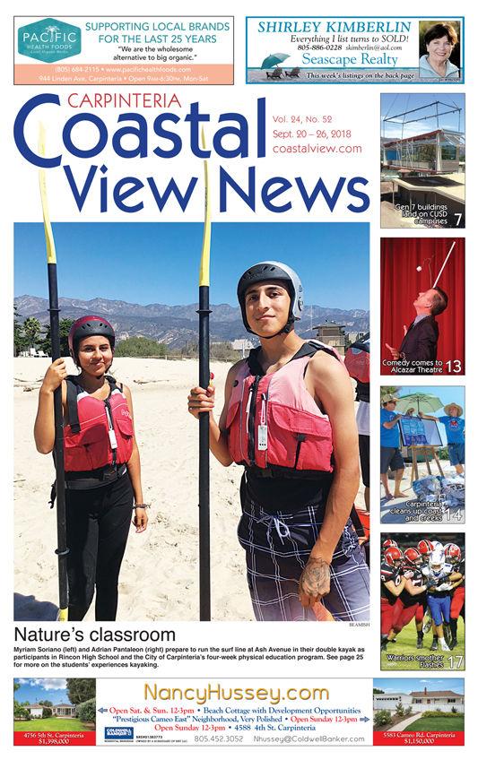 Coastal View News • September 20, 2018