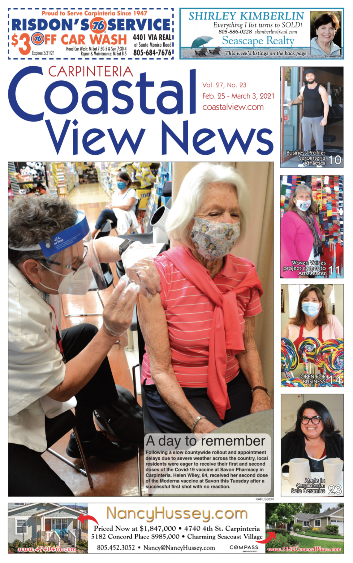 Coastal View News • February 25, 2021