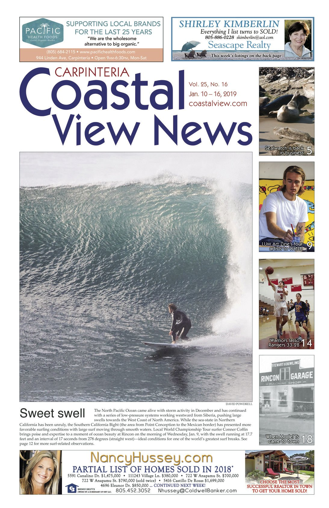 Coastal View News • January 10, 2019