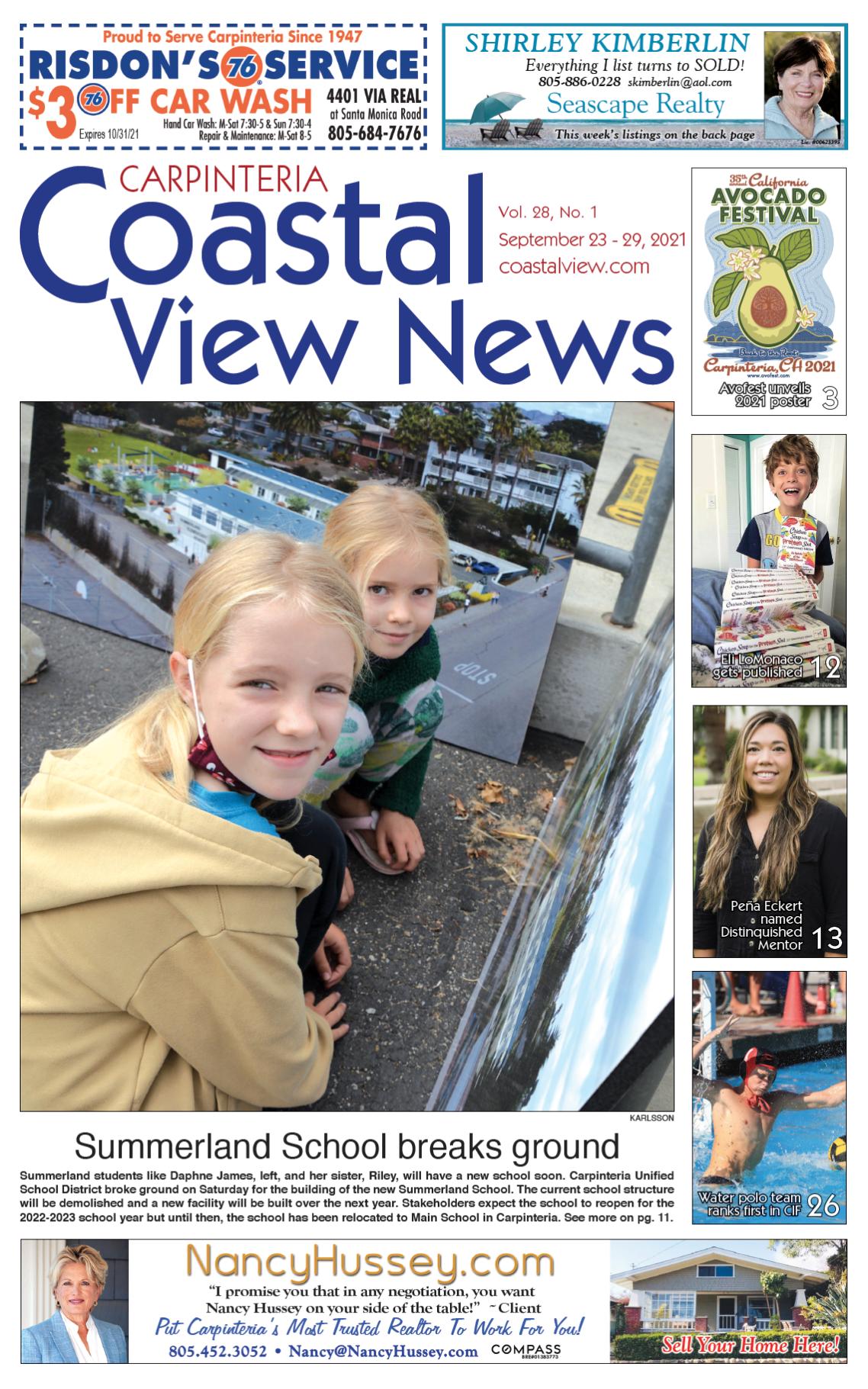 Coastal View News • September 23, 2021