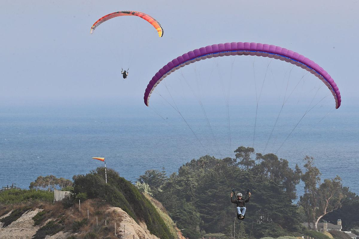 Flight school: Paragliders ride the Carpinteria currents