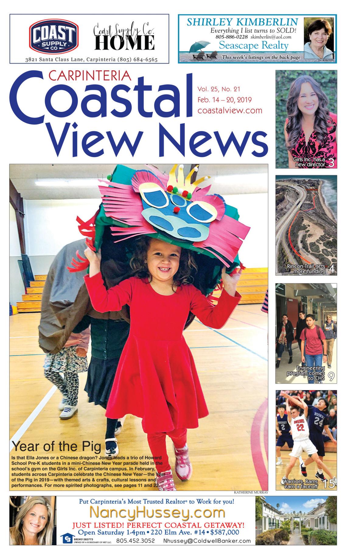 Coastal View News • February 14, 2019