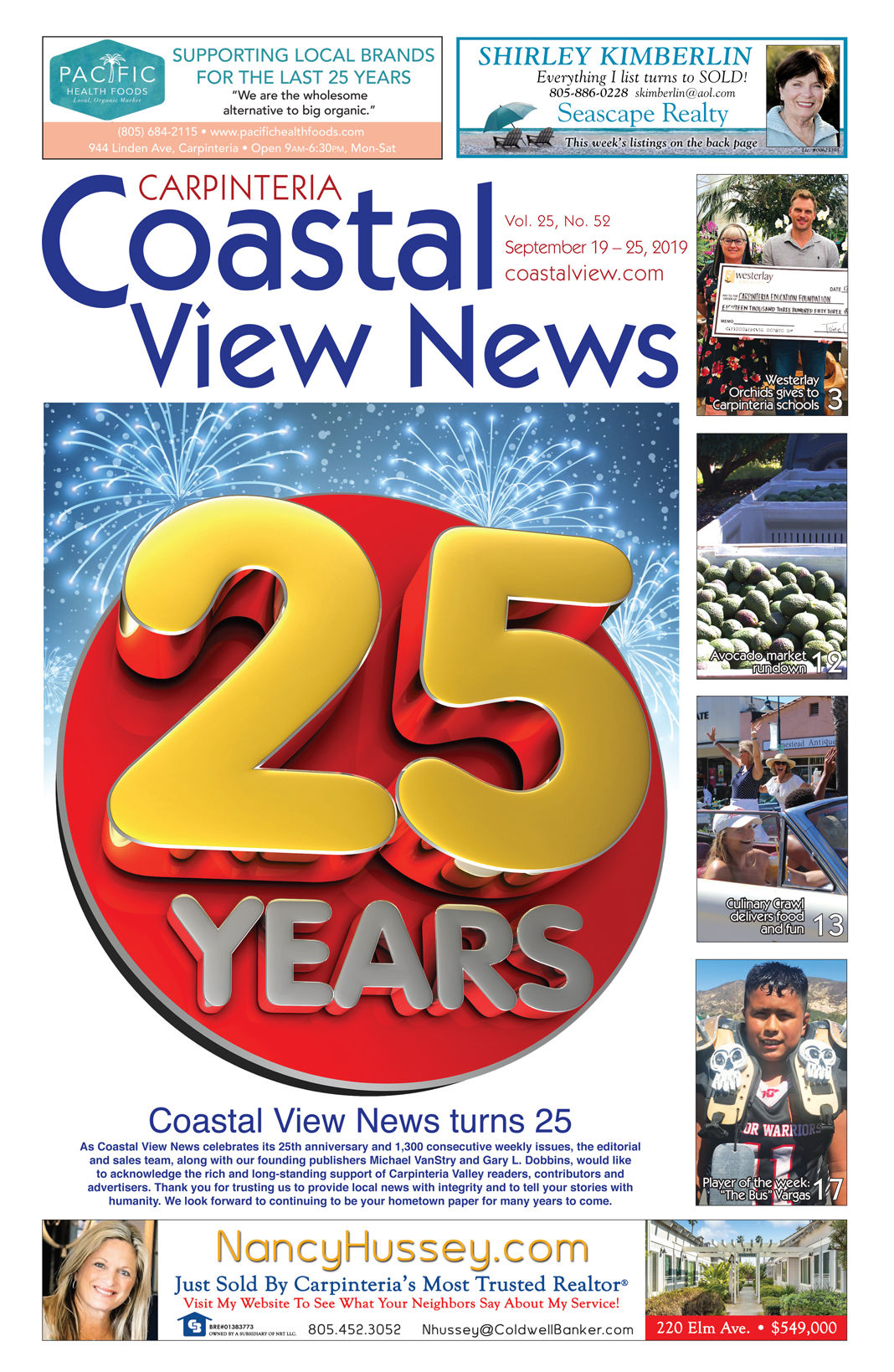 Coastal View News • September 19, 2019