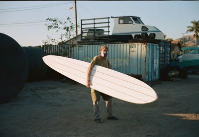 Beamish surfboard