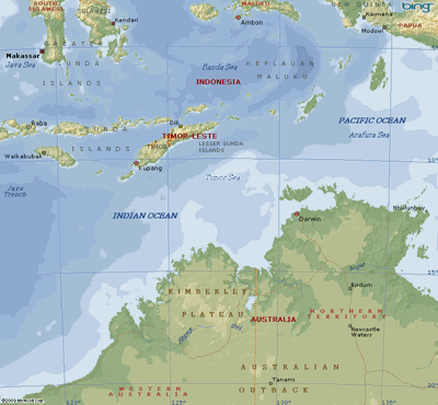 The Timor Sea