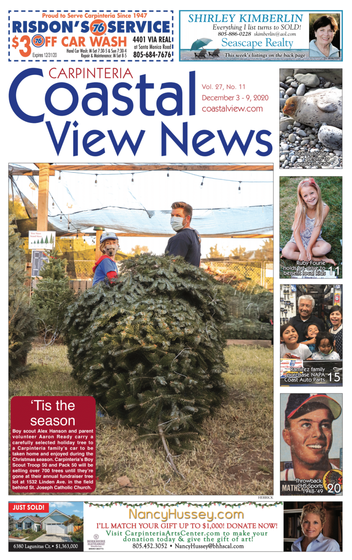 Coastal View News • December 3, 2020