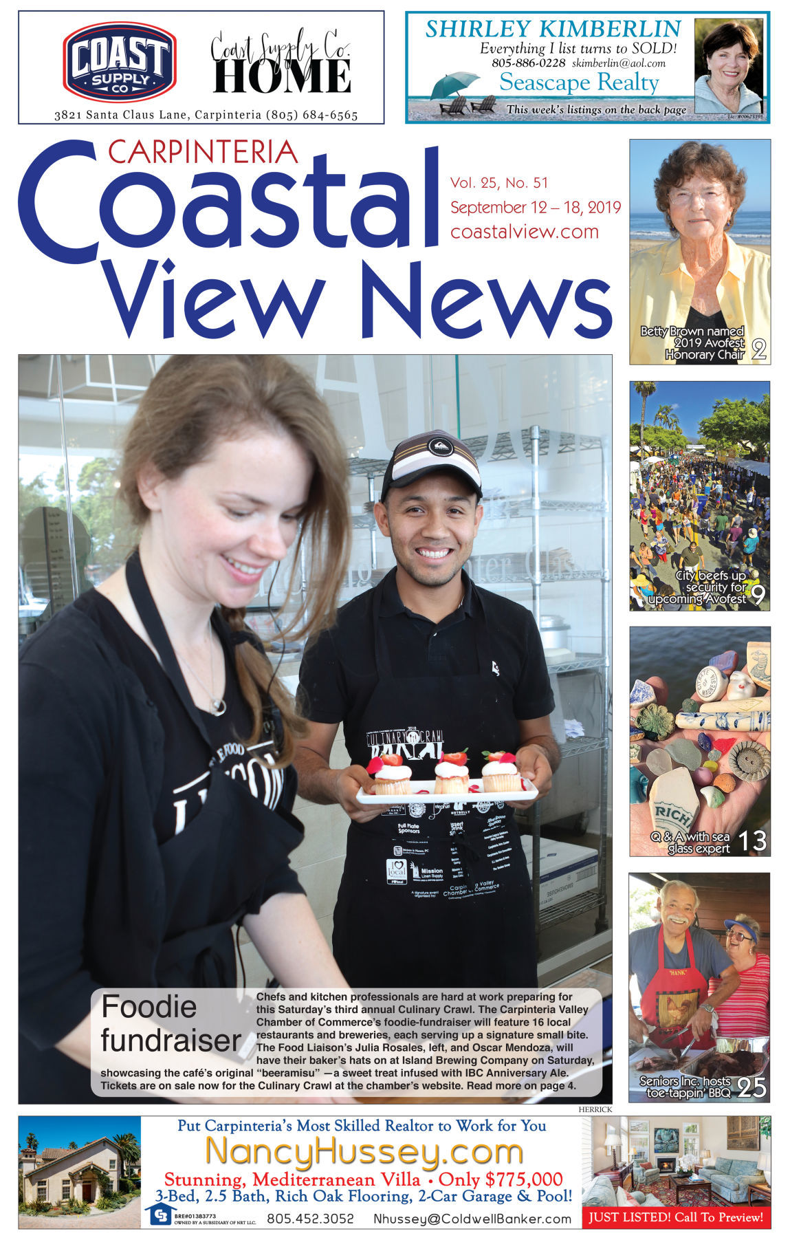 Coastal View News - Sept. 12, 2019