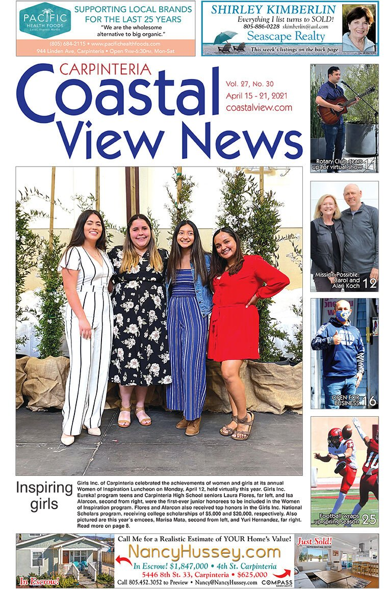 Coastal View News • April 15, 2021