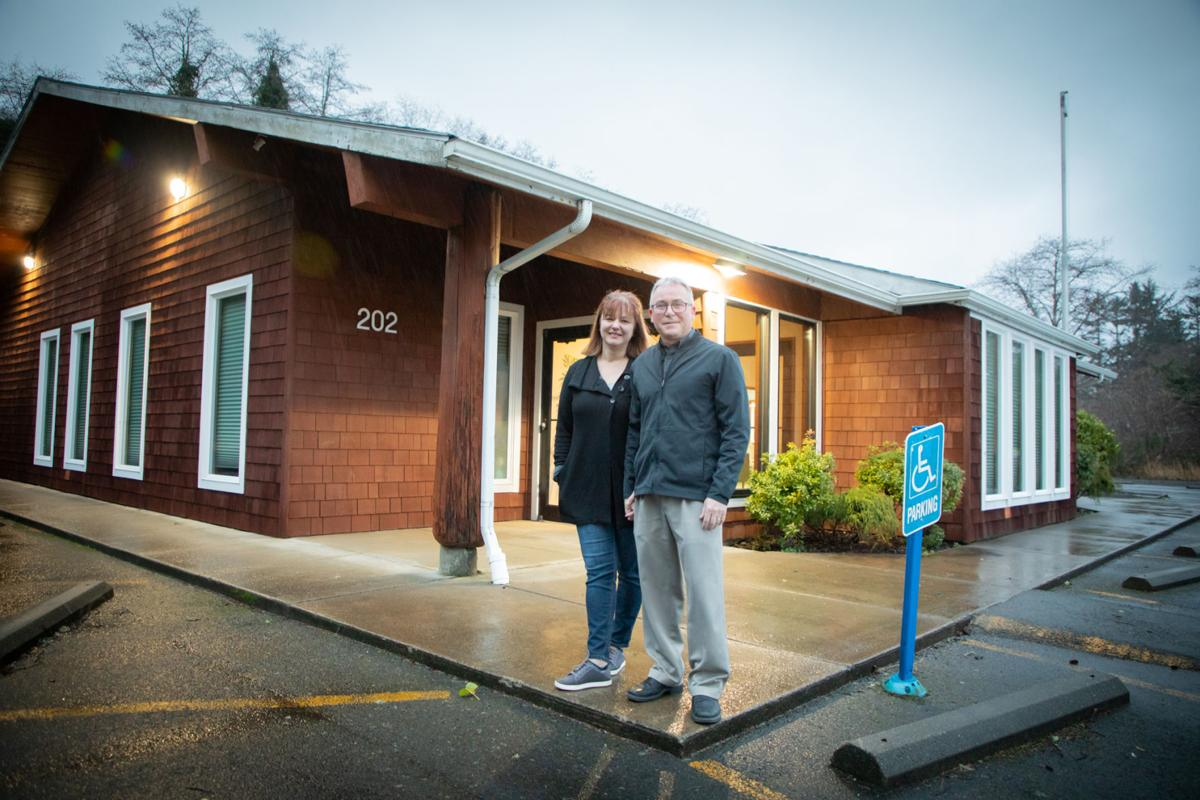 Daliah and Daniel Lundquist transformed a former bank building at 202 Spruce St. in Ilwaco into Design Dental and Implant Center