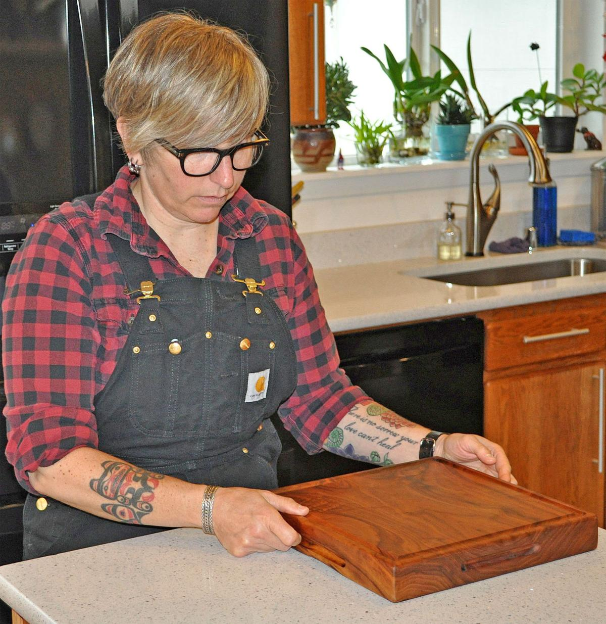 Ocean Park woman creates fine furniture with meticulous detail