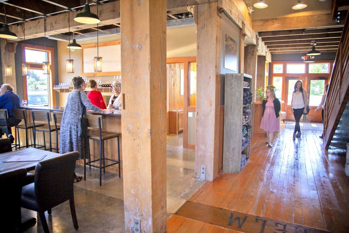 Guests toured hotel and pub during open house