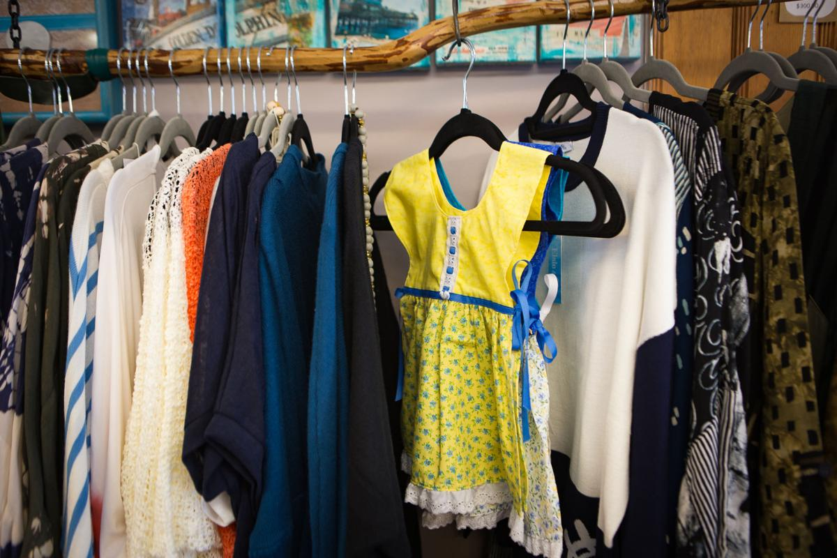 Traen attended a women's apparel show in Las Vegas, where she ordered a large portion of her clothing inventory
