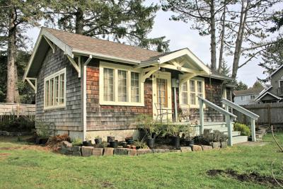 WELL PRESERVED: Glenn and Betty Walker Cottage