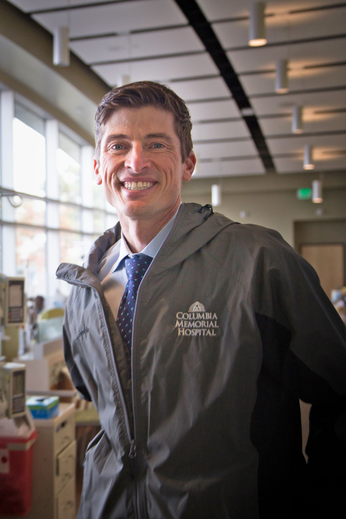 Chris Laman is the director of pharmacy