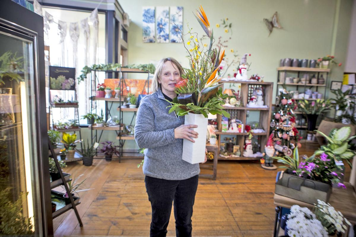 Bloomin Crazy Floral owner and designer Diane Berry