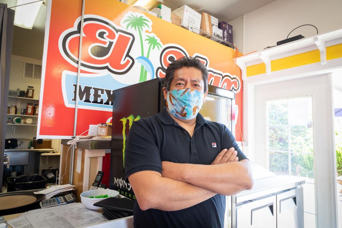 Tiburcio Bautista-Paz is the manager at El Mar Mexican Restaurant