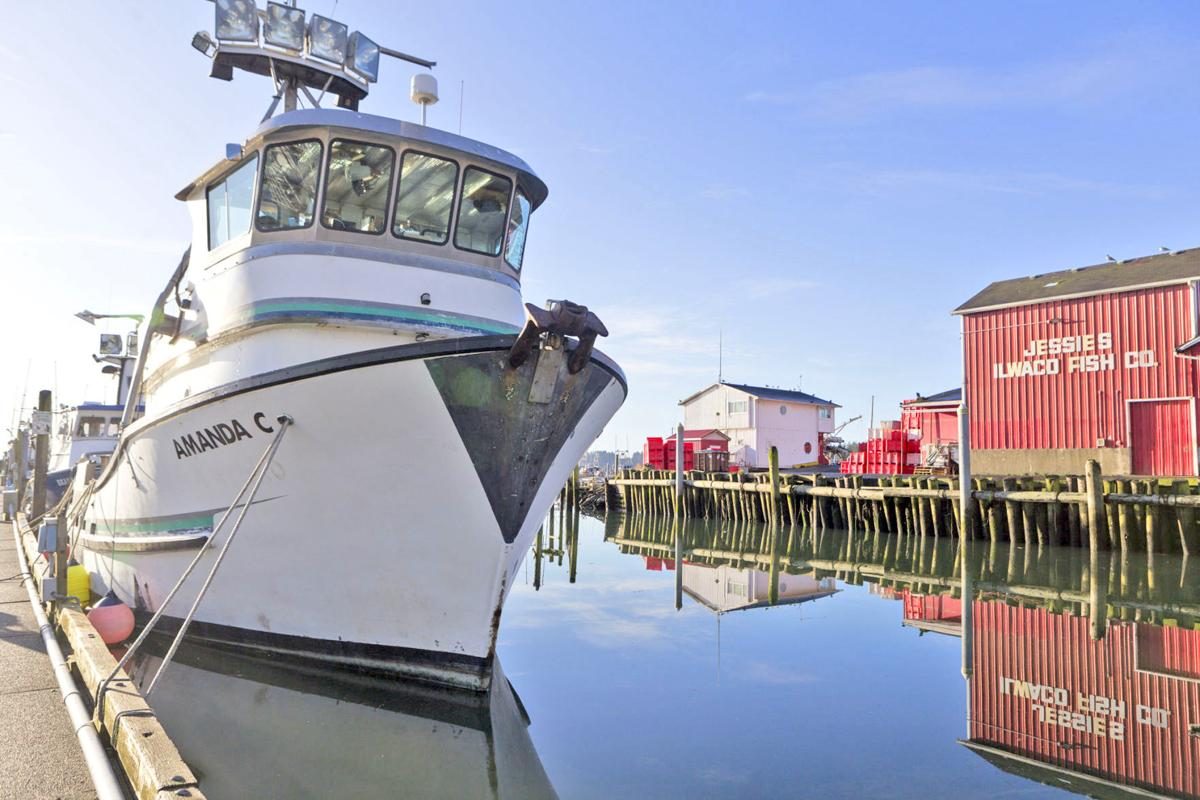 The F/V Amanda C is home ported at the Port of Ilwaco