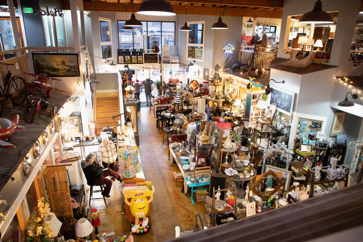 Rust and Dust Vintage has grown to occupy two levels in the building at 810 Broadway