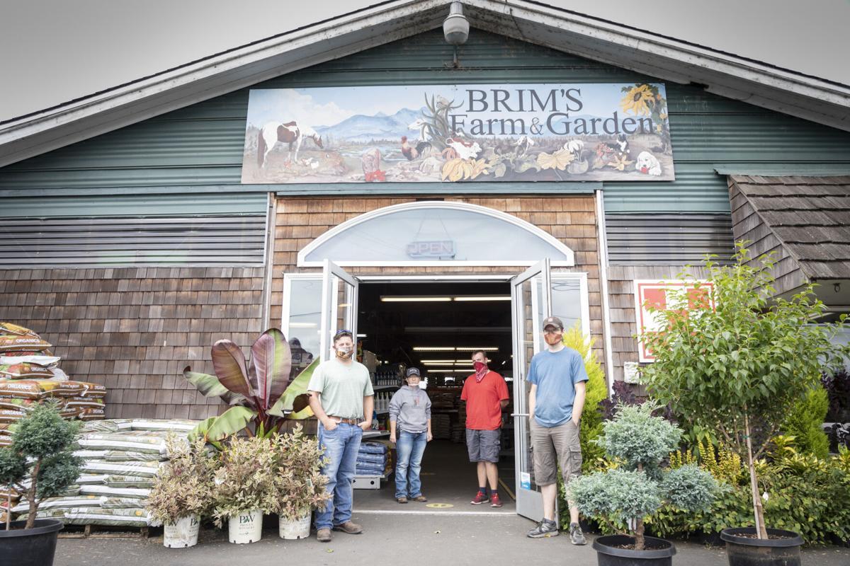 Brim's Farm and Garden employees
