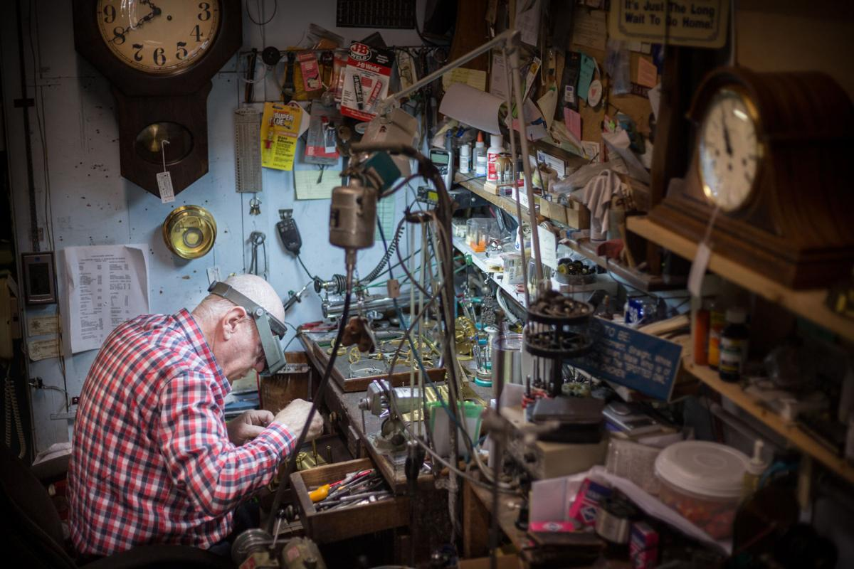 Changing times:  The last clockmaker