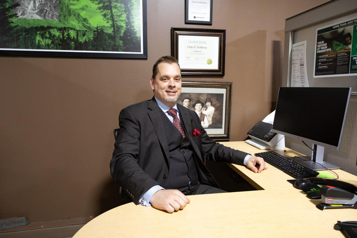 Tax Consultant Chris Holloway