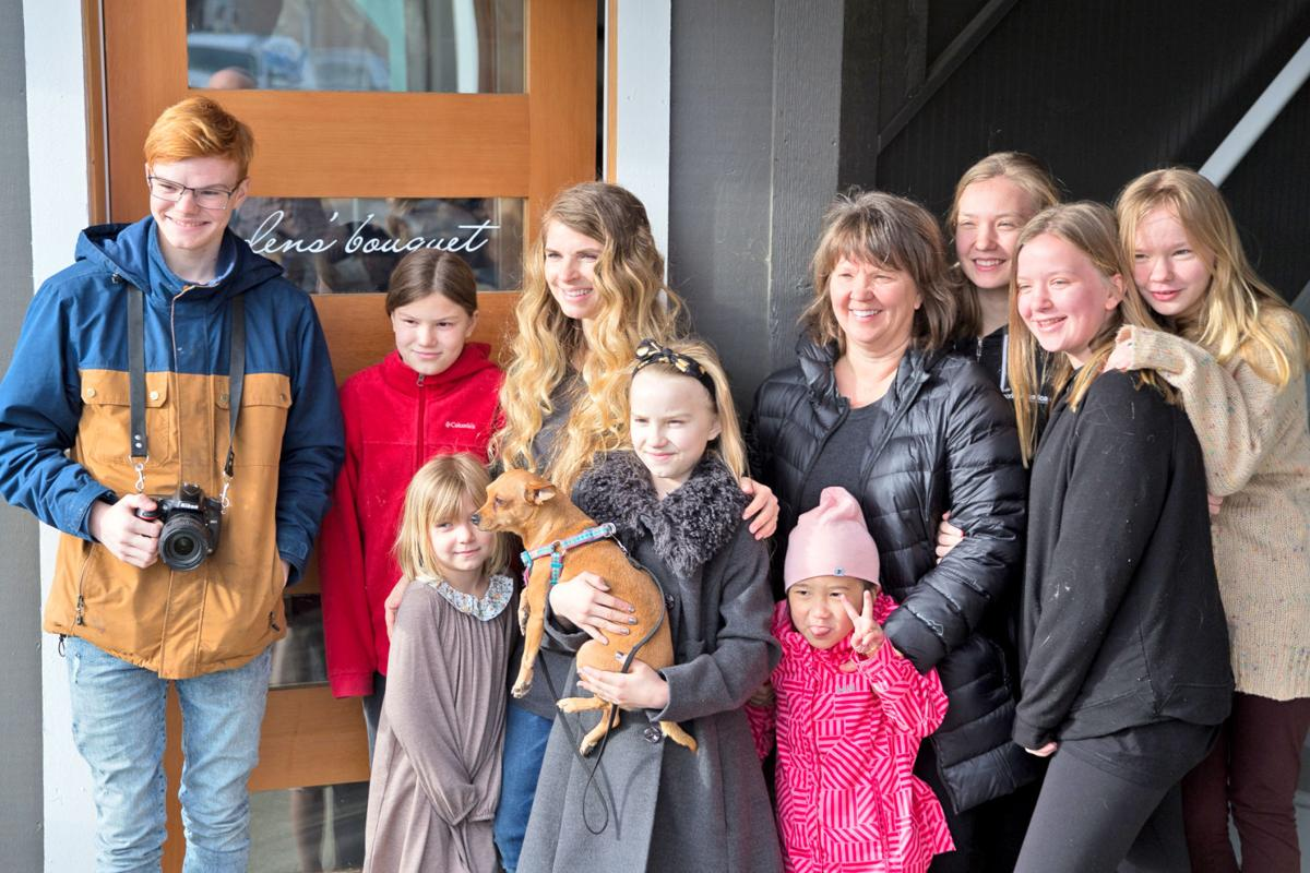 Jen Stenersen and family