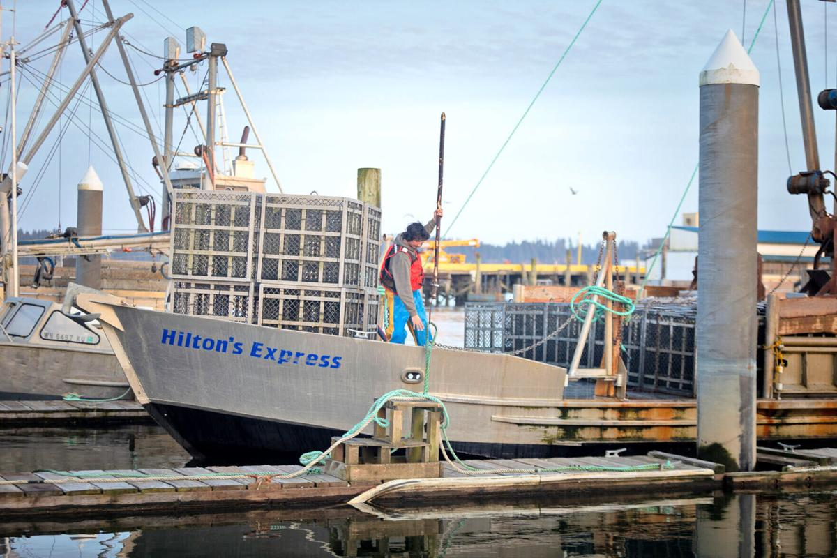 Hilton's Express pulls into port
