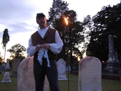 spirits alive cemetery tour
