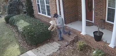 porch pirate lexington theft