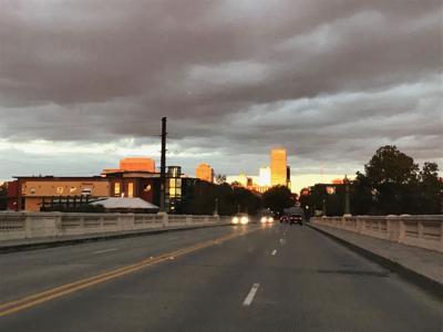 columbia downtown gervais st bridge