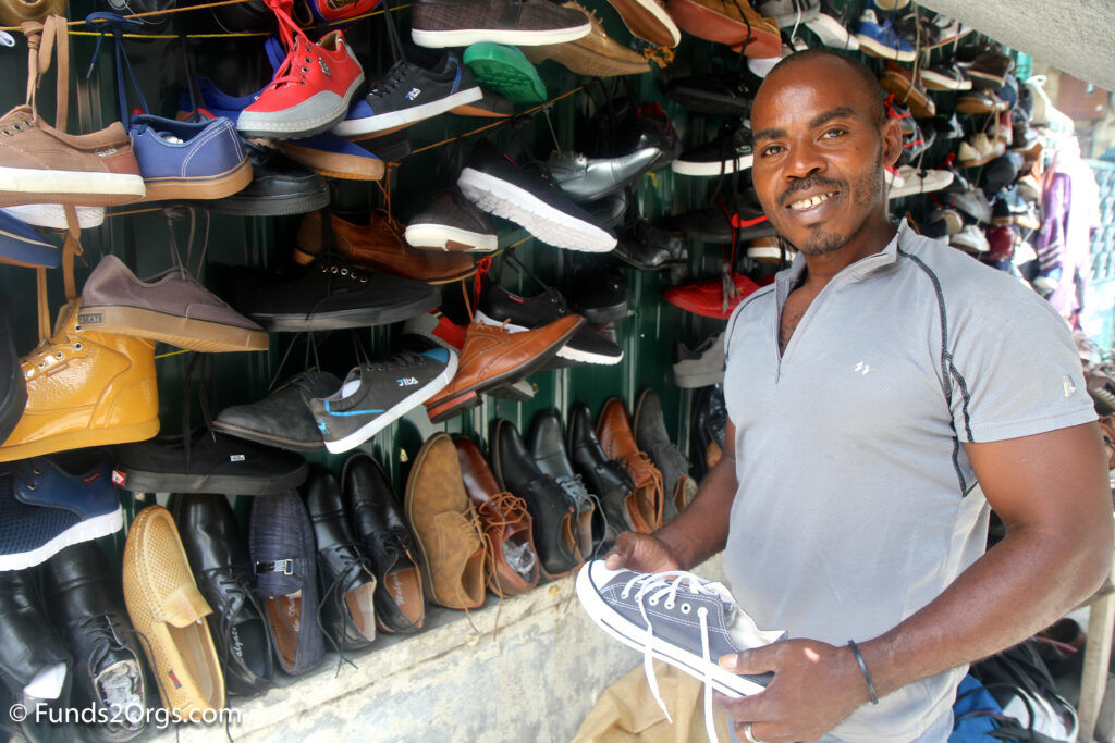 Shoes in Port au Prince