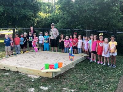 eagle scout project chapin elementary