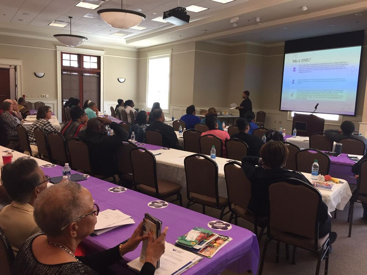 Attendees at caregivers conference.JPG