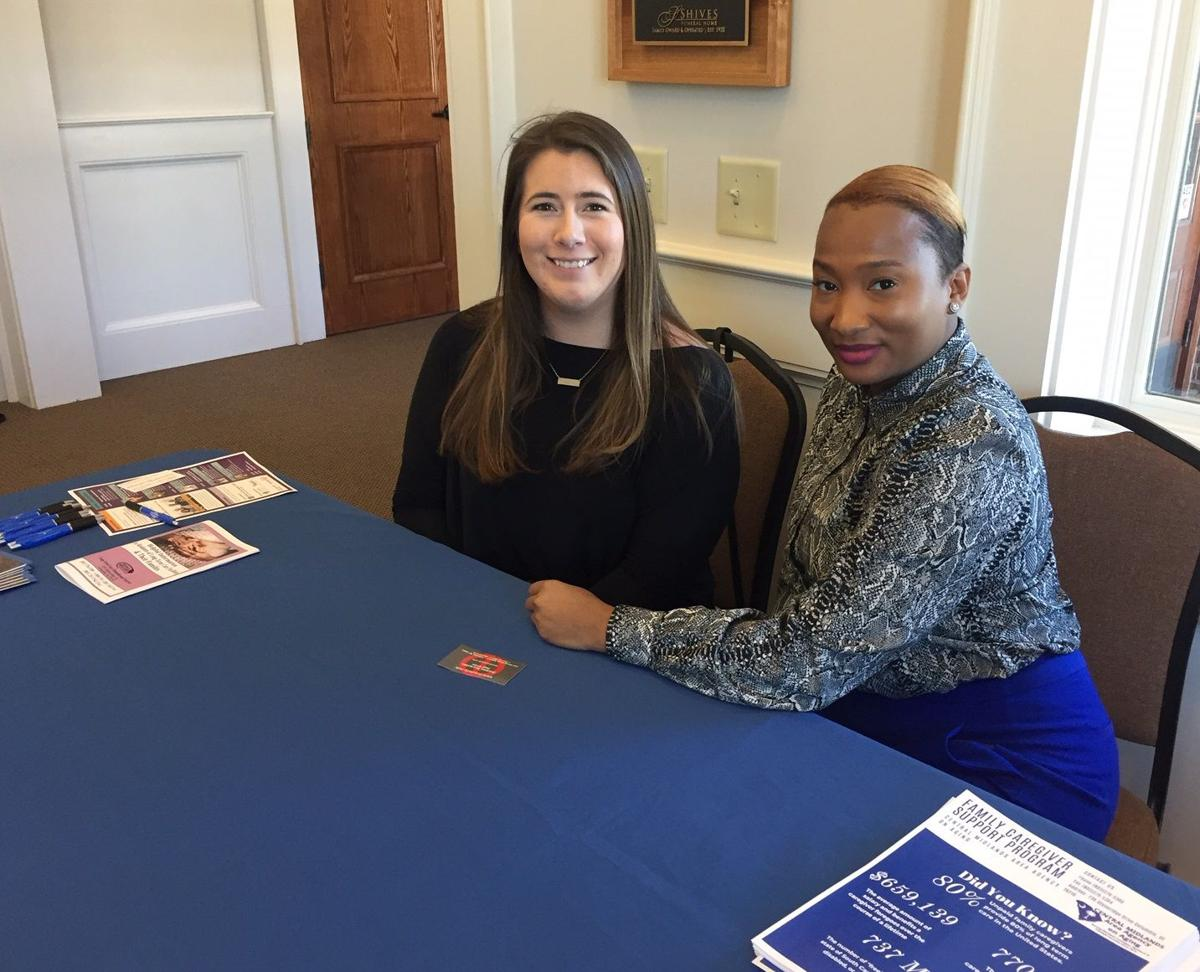 Kenley Longshore & Candice Holloway with Central Midlands Area Agency on Aging.jpg