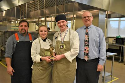 Junior chef competition champions