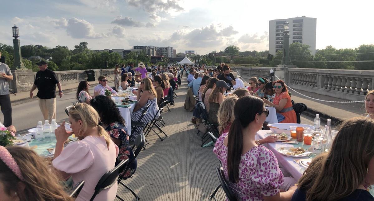 gervais street bridge dinner 2021