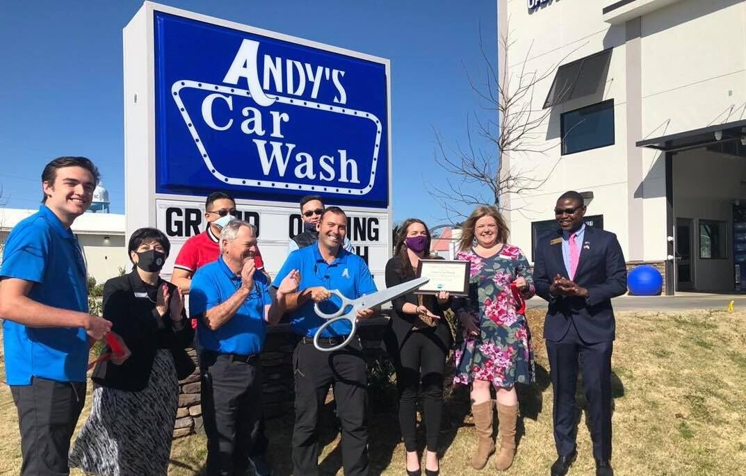 andy's car wash opening