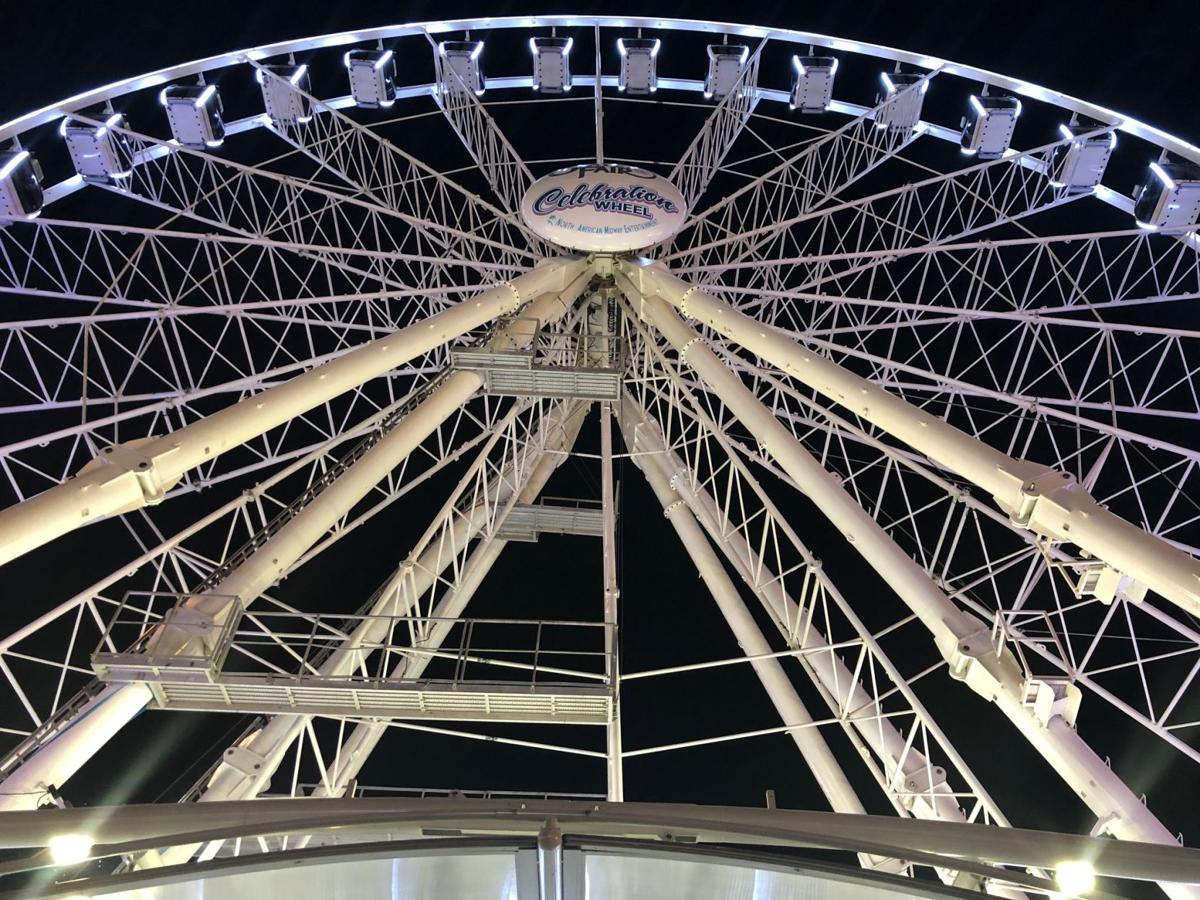 150th Anniversary ferris wheel
