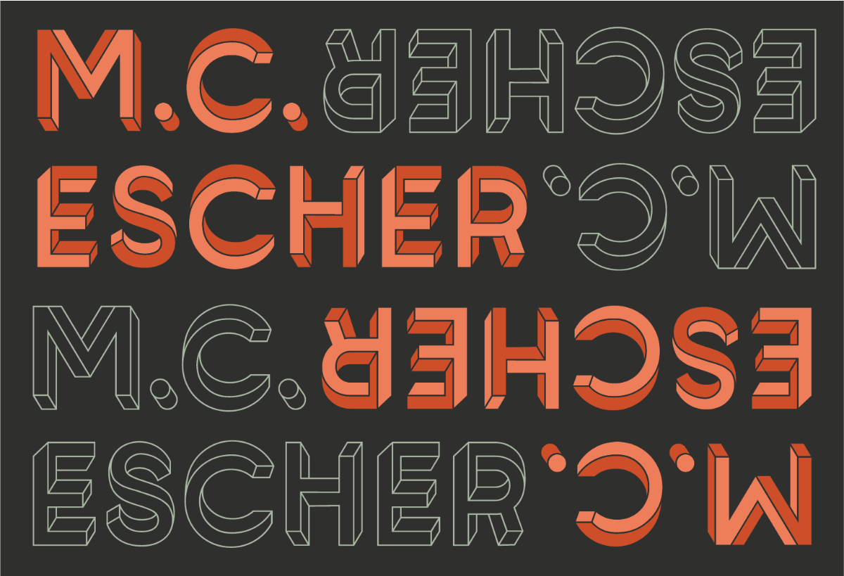 M.C. Escher graphic