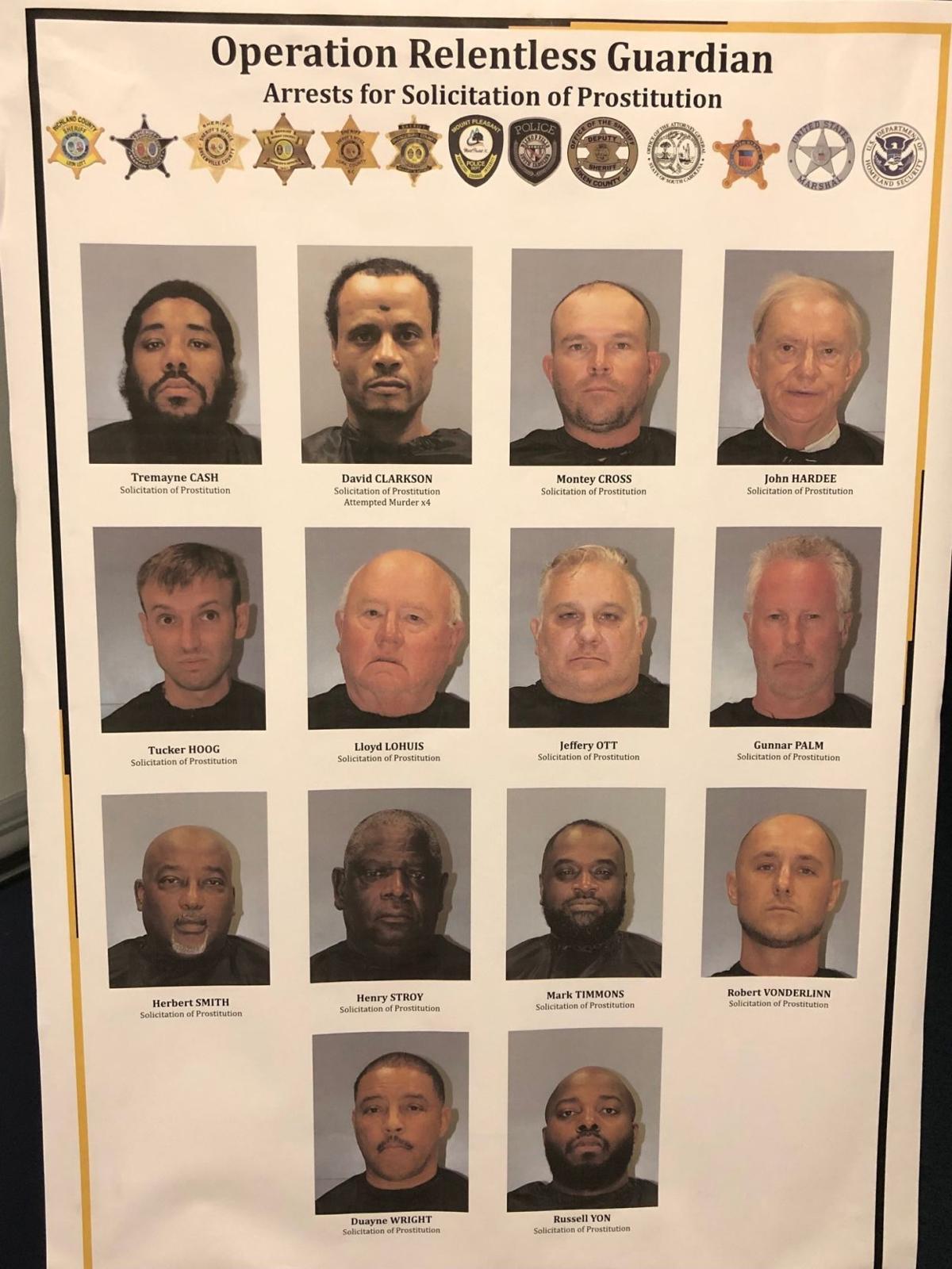 arrests for solicitation of prostitution